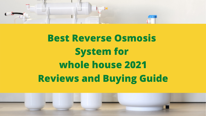best reverse osmosis system for whole house